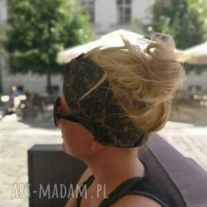 oryginalne opaski turban opaska turbanowa w kolorach ziemi