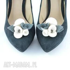 ciekawe ozdoby do butów filc filcowe przypinki do