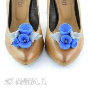 niepowtarzalne ozdoby do butów filc filcowe przypinki butów-