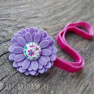 ozdoby do butów opaska włosów z kwiatuszkiem