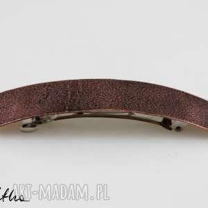 ozdoby do butów: Piasek - miedziana klamra do włosów 180413 -01 = - ręczne