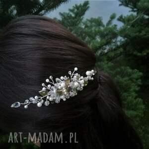 wyjątkowe ozdoby do włosów ozdoba do alessia piękna ślubna