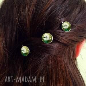gustowne ozdoby do włosów wsuwki dmuchawce - 3