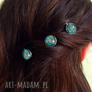 unikatowe ozdoby do włosów drzewo miłości - 3 wsuwki