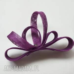 ozdoby do włosów zawijas fioletowy