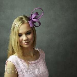 zawijas ozdoby do włosów fioletowy