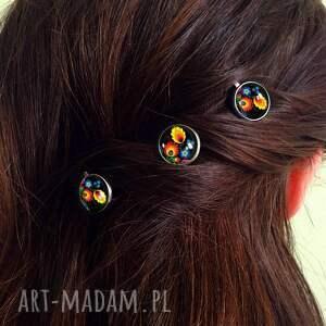 ręczne wykonanie ozdoby do włosów wsuwki folk - 3