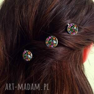 modne ozdoby do włosów wsuwki folk - 3