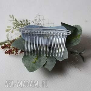 atrakcyjne ozdoby do włosów grzebyk wiosenny