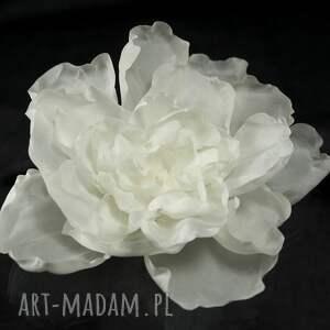 niesztampowe ozdoby do włosów perła jedwabny kwiat z perłą