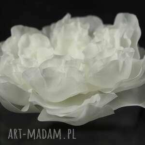 SELENIT ozdoby do włosów: Kwiat ślubny - jedwab