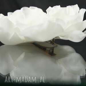 kwiat ozdoby do włosów ślubny
