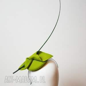 fascynatory Limonka z piórem fascynator