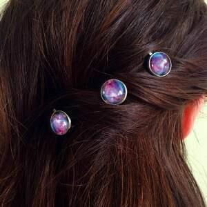 modne ozdoby do włosów wsuwki nebula - 3