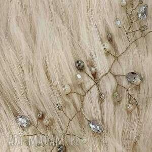 wyjątkowe fryzura niezwykła aplikacja ozdoba ślubna