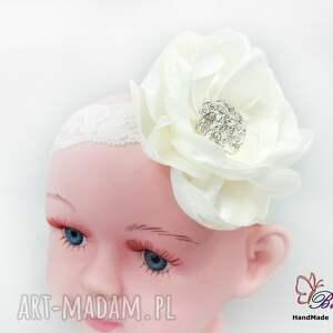 ręcznie zrobione ozdoby do włosów opaska dla niemowlaka