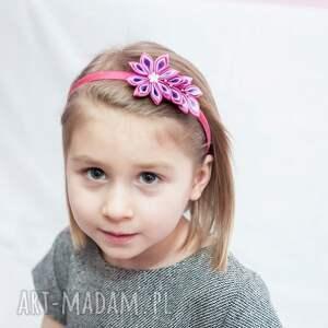 hand made ozdoby do włosów opaska dla dziewczynki