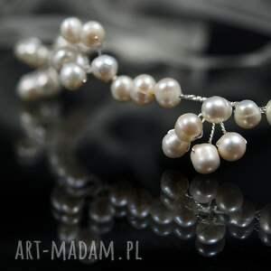 ślub ozdoby do włosów perłowo ozdoba