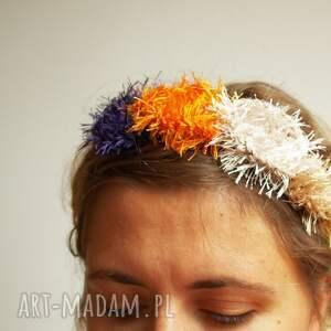 ZaamotanaZofja ozdoby do włosów: Wianuszek Opaska wlochatekwiatki