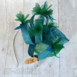 handmade ozdoby do włosów wiosenna łąka