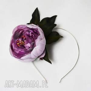 handmade ozdoby do włosów kwiat wiosenny