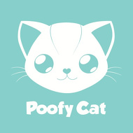 POOFY CAT