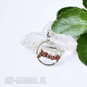 świąteczny prezent, naszyjnik z górami, góry, srebro, tatromanik, pasmo górskie