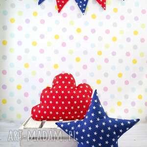 Prezent Poduszka w kształcie gwiazdy GRANATOWA, poduszka, gwiazda, pokój, dziecko