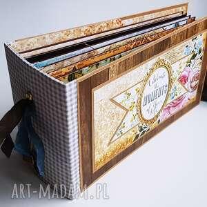 święta, album w stylu vintage, album, scrapbooking, pamiątka, prezent