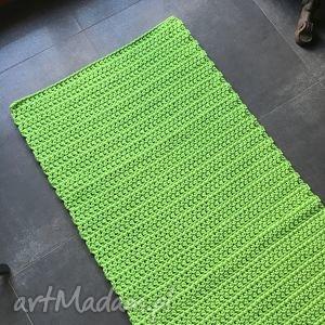 handmade dywany dywan, chodnik ze sznurka bawełnianego groszek 70x160 cm