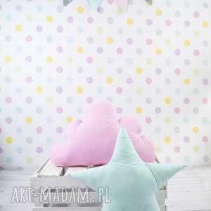 Prezent Poduszka w kształcie gwiazdy MIĘTOWA, gwiazda, prezent, dekoracja, poduszka