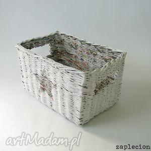 święta prezent, koszyk z gwiazdką, kosz, handmade, wnętrze, recykling