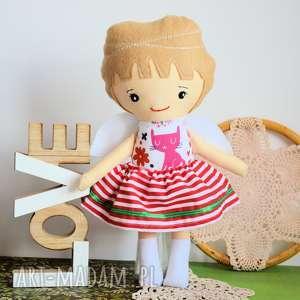 ręcznie zrobione lalki aniołek stróż - ewunia 35
