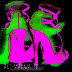 Made in Pixla, szpilki, ekspresja, autorski, nowoczesny, obraz, moda