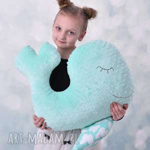 ręczne wykonanie pokoik dziecka przytulanka dziecieca wieloryb