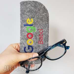 etui na google babci, filcowe, etui, google, babcia, dzieńbabci