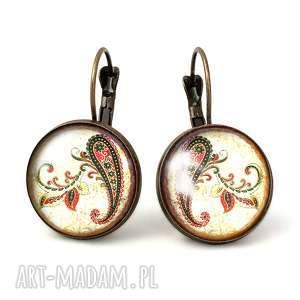 nerki - duże kolczyki wiszące - biżuteria, prezent