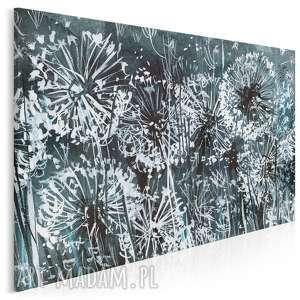 obraz na płótnie - dmuchawce łąka 120x80 cm 38101, dmuchawce, dmuchawiec