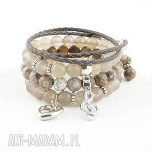 agat i jaspis new collection - bransoletka, agat, jaspis