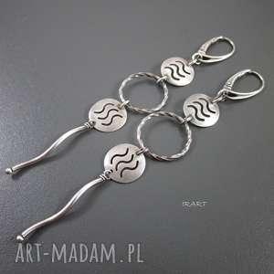 Długie kolczyki XXIII, srebro