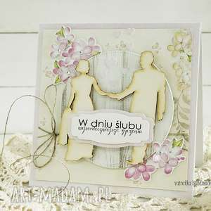 Kartka ślubna, 167 - ,kartka,ślubna,