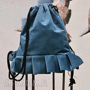 BBAG Ballerina plecak, worek, pluszowy, sportowy, elegancki, sznurki