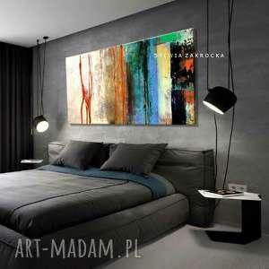 handmade dekoracje masajska abstrakcja obrazy do salonu nowoczesnego