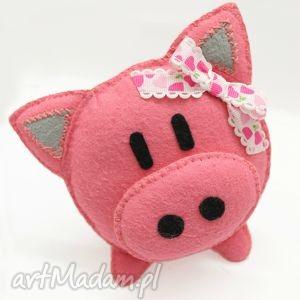 świnka halinka (świnka, maskotka zabawka, filc)