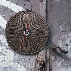 wyjątkowy prezent, zegar chain, łańcuch, metalowy, loftowy, industrialny