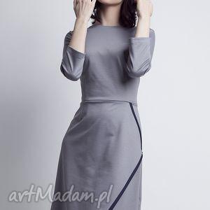 hand-made sukienki sukienka, suk116 szary