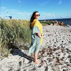 surf poncho - yellow sage szlafrok do morsowania, dla morsa