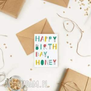 ekologiczna kartka okolicznościowa urodzinowa lskling, minimalizm