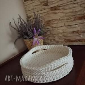 kosze koszyk - taca ze sznurka bawełnianego 30cmx6cm, sznurka