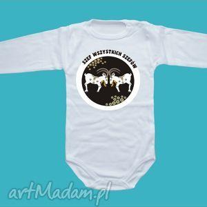 body niemowlęce szef wszystkich szefów, body, bluzka, ubranka, prezent, dziecko